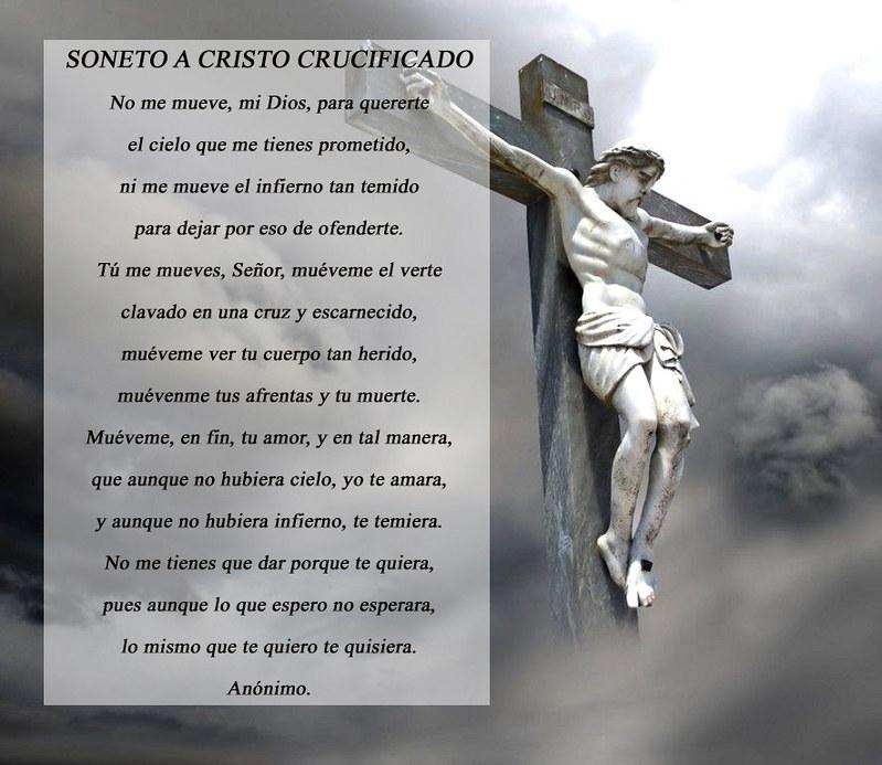 Soneto A Cristo Crucificado Verónica Cruz Flickr