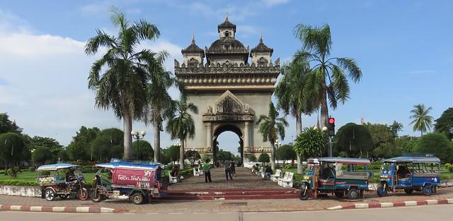 Patuxai (Vientiane, Laos)