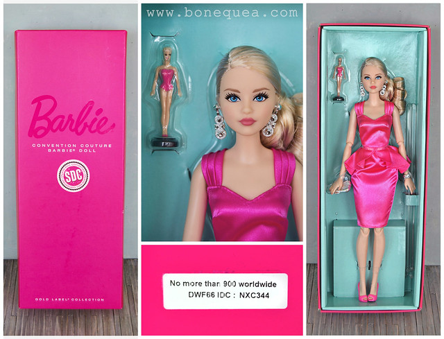 Spanish Doll Convention: Convention Couture Barbie Doll