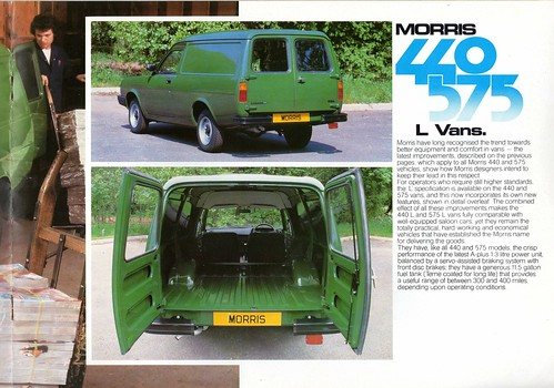 Morris Ital 440 and 575 Pickup and Van Brochure 1983 (7) | by Trigger's Retro Road Tests!