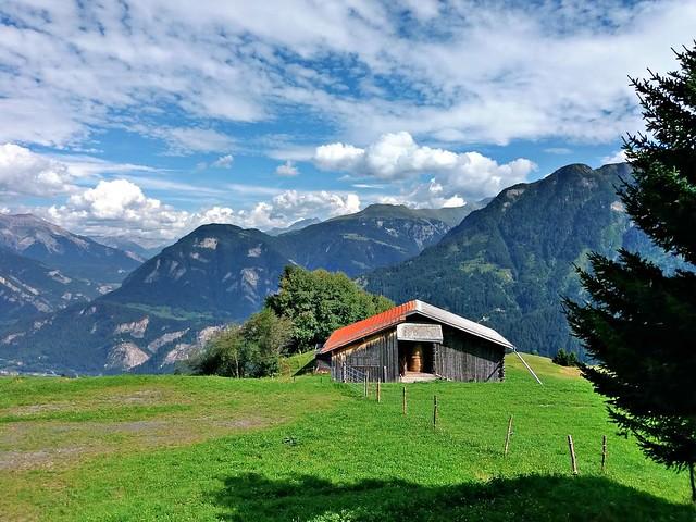 Lonely barn, Urmein