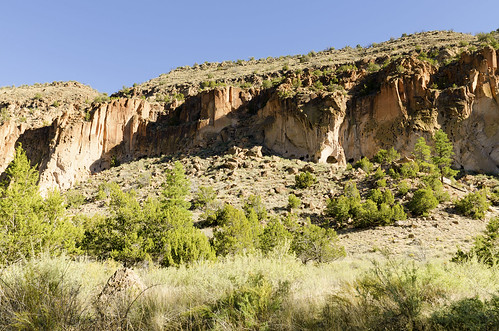 bandelier national monument new mexico west western us usa landscape outdoor southwest