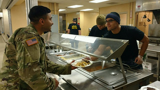 New York Naval Militia feeds troops at Camp Smith