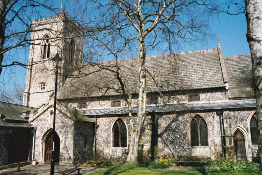 Norfolk, THETFORD, St Cuthbert