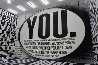 Barbara Kruger - Forever | by Butterfly Art News