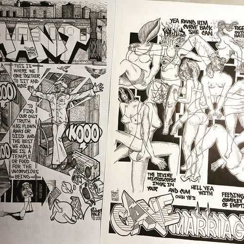 Scanning these old comics from the late 90's early 2000'dtbt #graphicpoetry #comics  #abstractcomics #graphicnovel #graffiticomics #graphpaper #experimental #wordsandpictures #comix | by simple heady