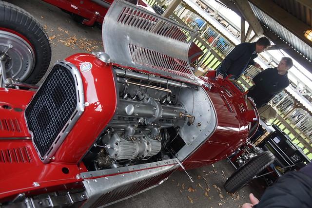 Alfa Romeo Tipo B 1932, Varzi Trophy, 75th Members' Meeting, Goodwood (1)