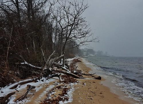 weinbergpark pasadena maryland annearundelcounty winter winterscenes snow marylandbeaches