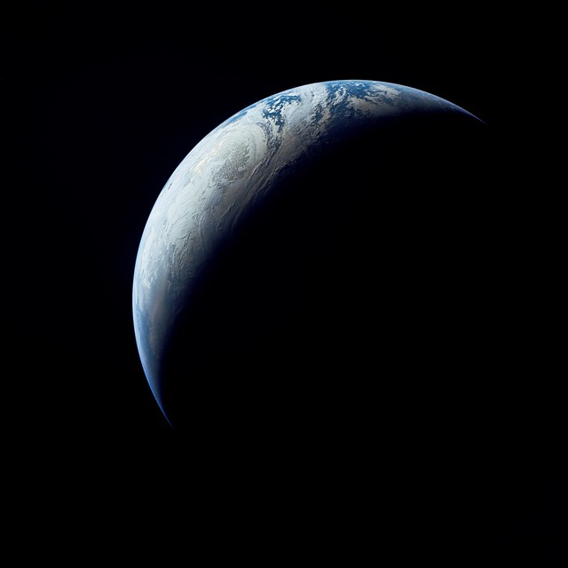 View of Earth from Apollo 4