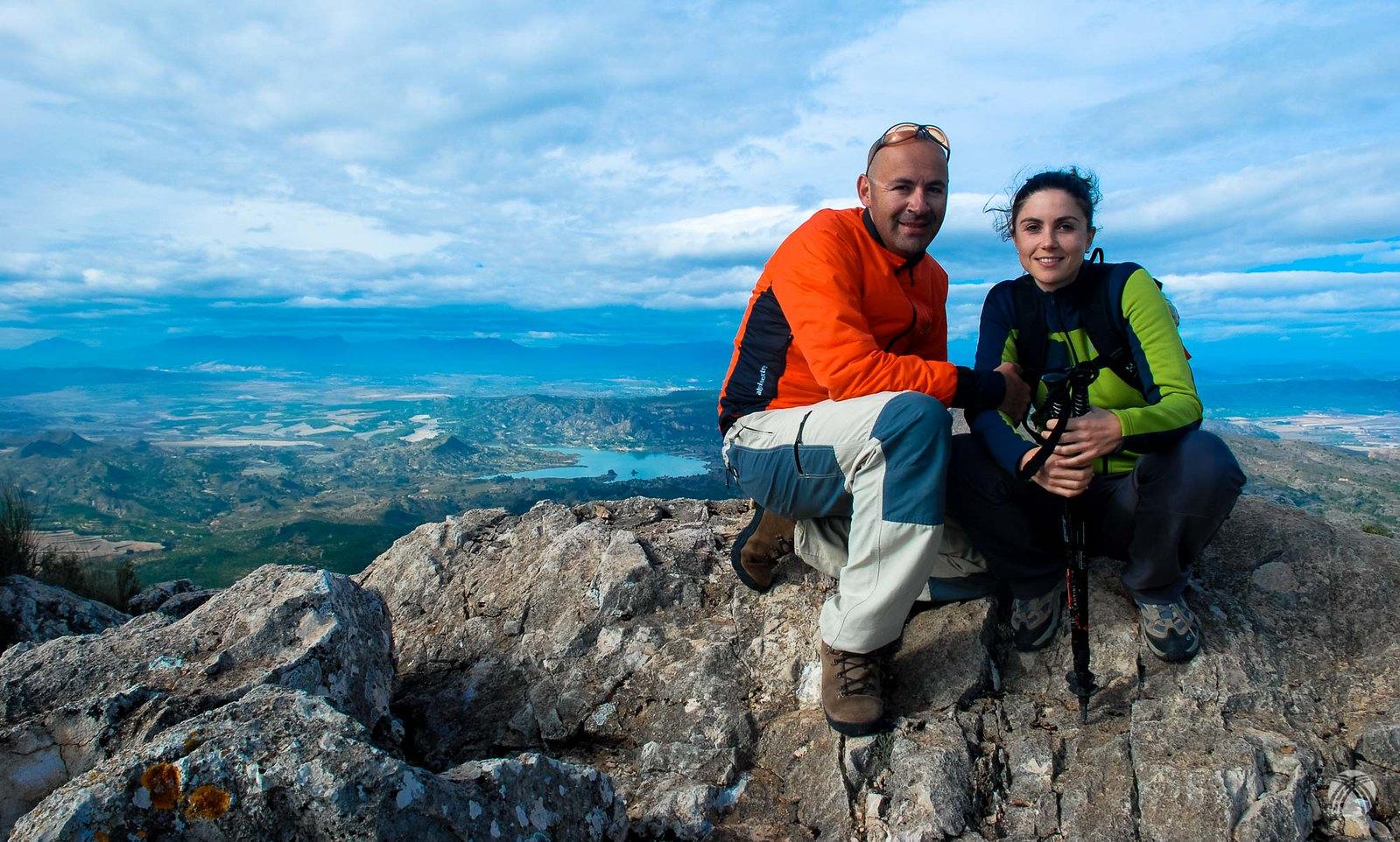 Foto de cumbre con Lourdes