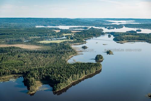 länghem torpasjön 3 flygfoto natur ömmesala västragötaland sverige swe
