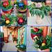 Holiday Greens — Photo Courtesy Brian Wheat, AAF, PFCI, of Lafayette Florist, Gift Shop & Garden Center in Lafayette, Colorado. www.lafayetteflorist.com