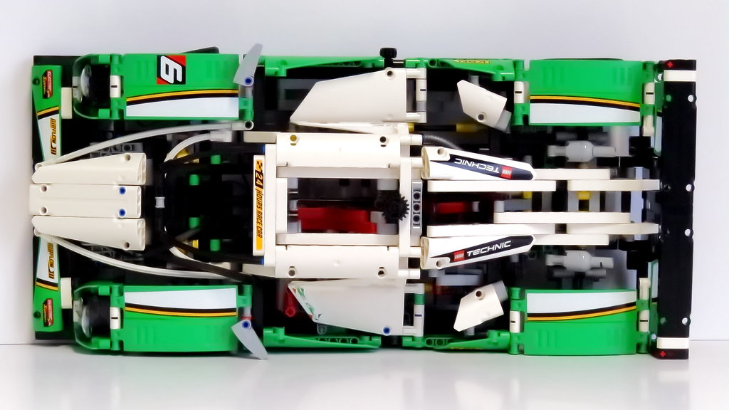 Lego Le Mans Lego Technics Rennwagen Race Car 1215 Tei Flickr