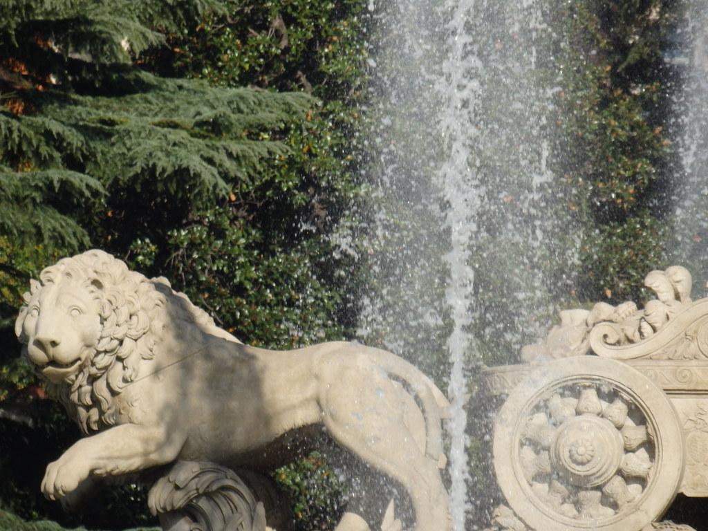 Lion, Fuente de la Diosa Cibeles