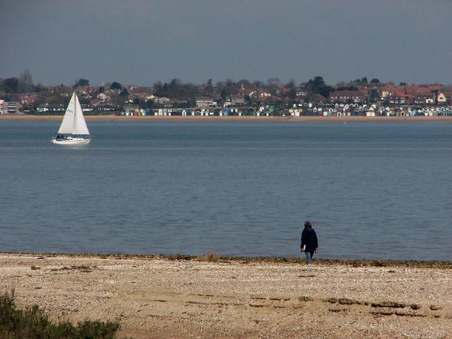 Mersea Island from Bradwell