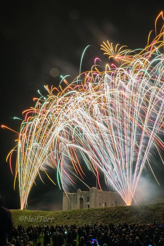 Castle Rising Fireworks 5