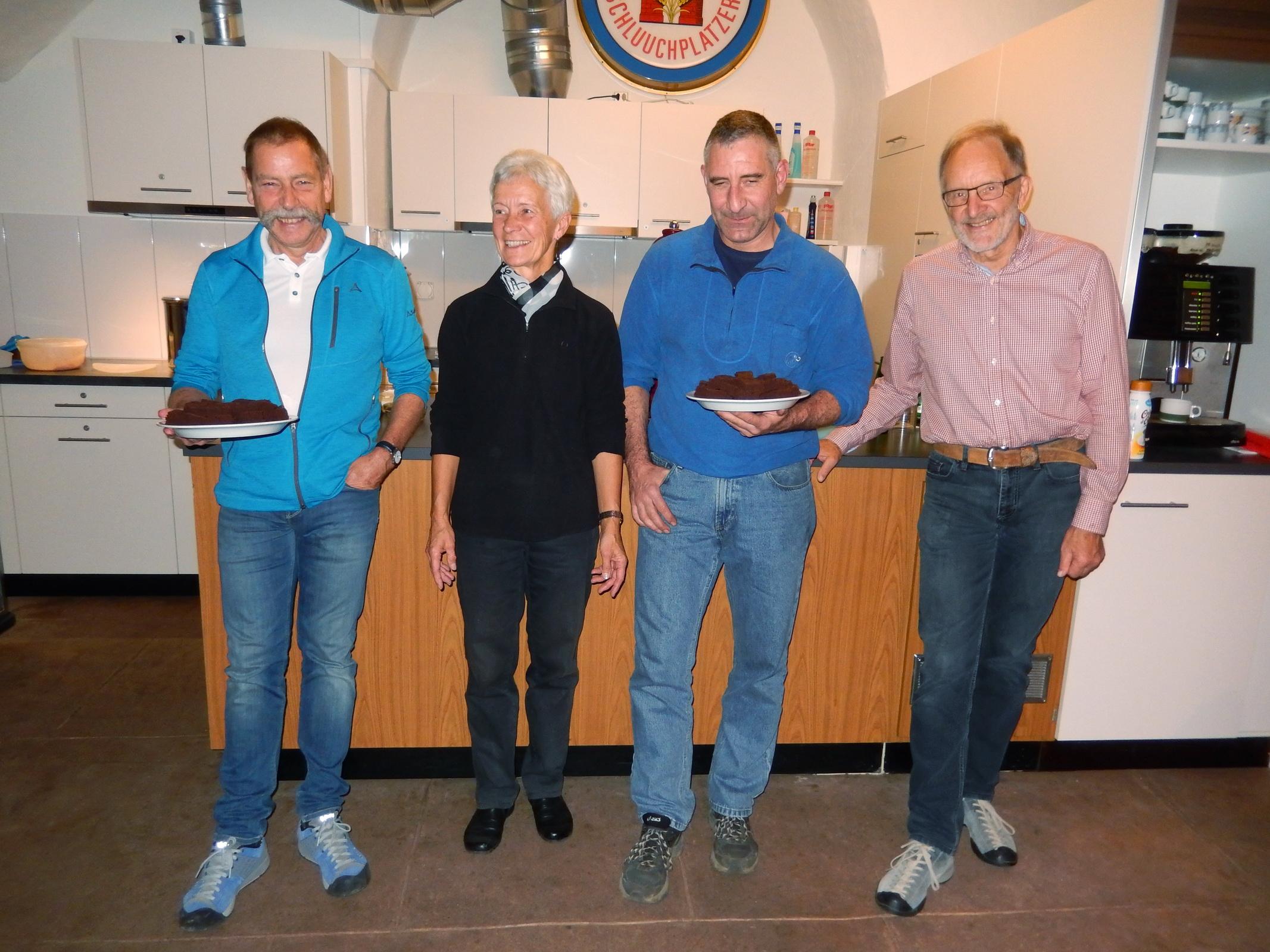 5-Vorstandsessen Clublokal 15.11.2017