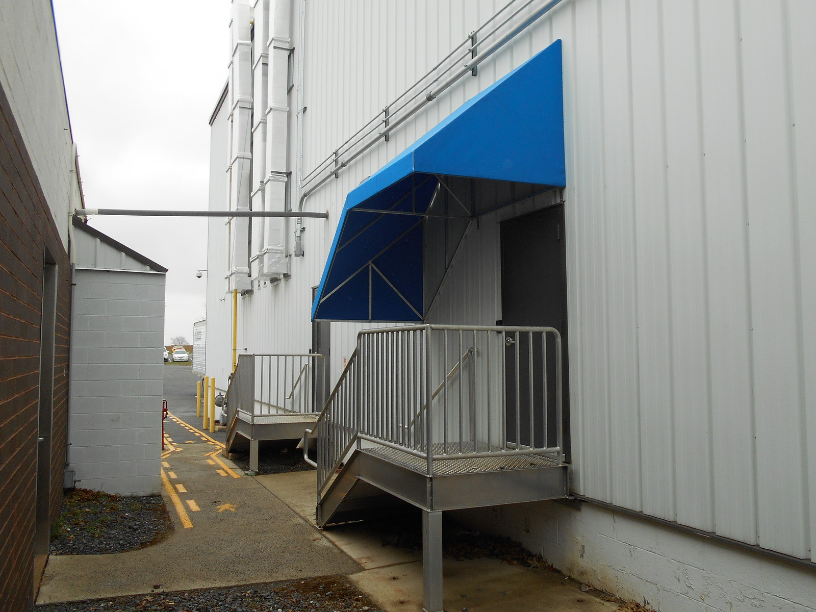 Commercial-Stairs-Ramp Awnings