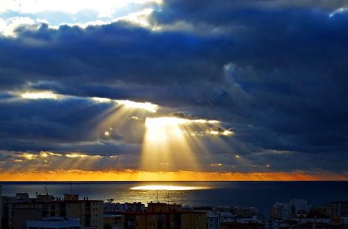 andalucia amanecer agua marbella málaga mar mediterráneo españa spain sunrise sol