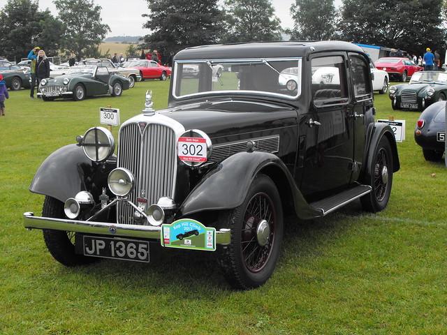 Rover 12 Sportsman - JP 1365