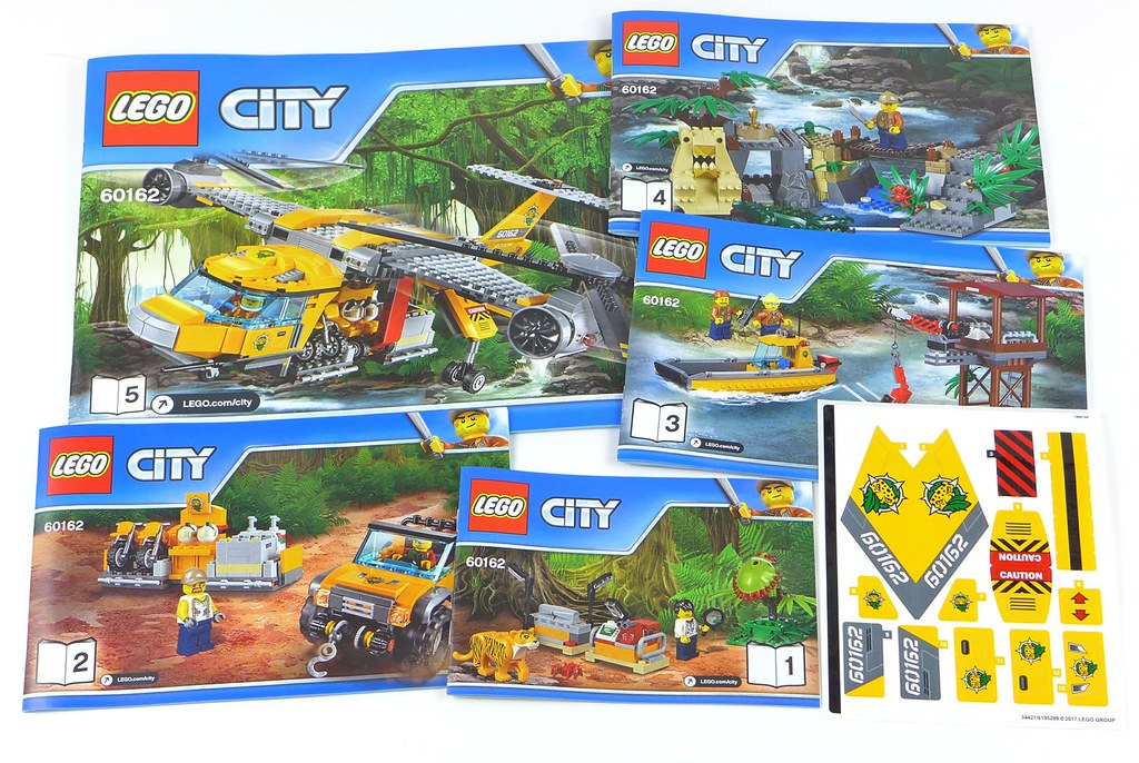 Lego City Jungle 60162 Jungle Air Drop Helicopter 007 Flickr