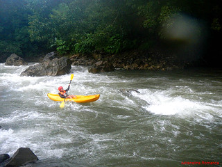 Whitewater kayaking in Tibiao River | by Adrenaline Romance