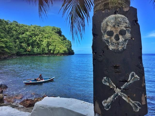 Lugar donde se rodó Piratas del Caribe en San Vicente y las Granadinas