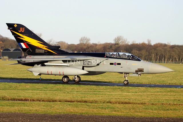 Tornado F3 ZE734 JU 111 Fighter Squadron.