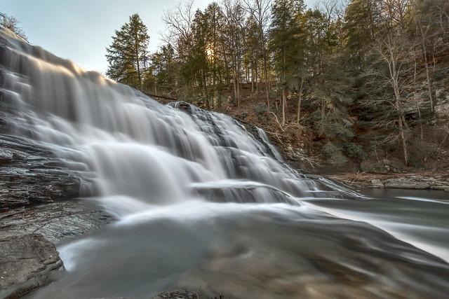 Cane Creek Cascades, Cane Creek, Fall Creek Falls SP, Van Buren County, Tennessee