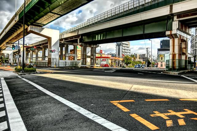 town, Bentencho, Osaka