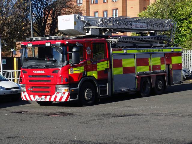 SF08 AFU Scottish Fire and Rescue Service