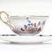 English Cup from Wedgwood Midnight Crane