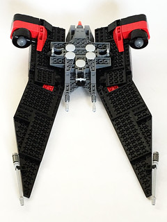 Aurek-Wing Fighter bottom | by Oky - Space Ranger