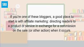 What Is A Blog Affiliate Program?