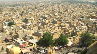 City view, Jaisalmer | by wanderingjatin