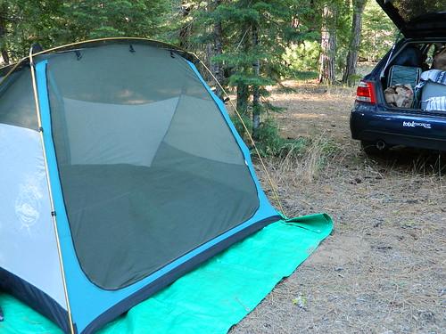 Car Camp Lassen
