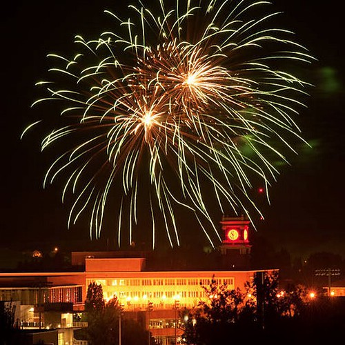 Happy #4thofJuly! How are you celebrating today?  #WSU #GoCougs