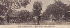 Outside the Show Ground, Willunga, 1906.