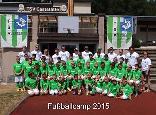 Fussballcamp 2015