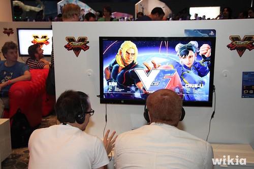 Ken VS Chun-Li
