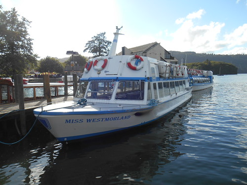 'mv Miss Westmorland'  Bowness-on-Windermere