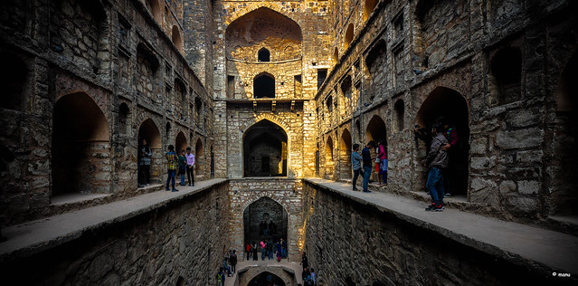 the spooky Ugrasen ki Baoli......