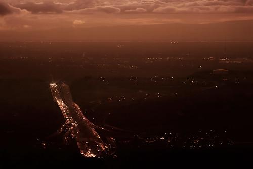 freeway eldoradohills folsom sacramento mountains clouds lights 011217 nikon interesting