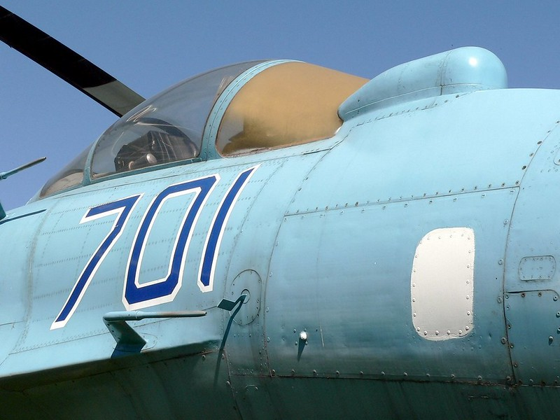 Sukhoi Su-35 Flanker 4