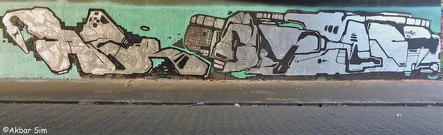 Den Haag Graffiti : DAZR & XTRA