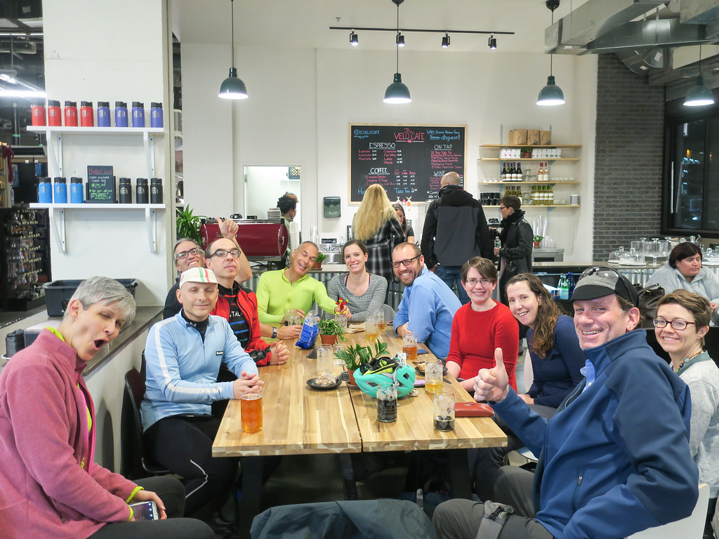 #bIkedc happy hour at Velo Cafe