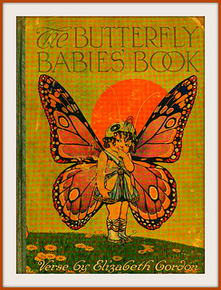 Book with butterfly on cover