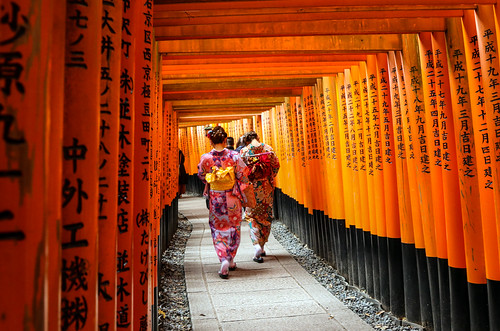 Inari Shrine - Path | by Lawrence OP