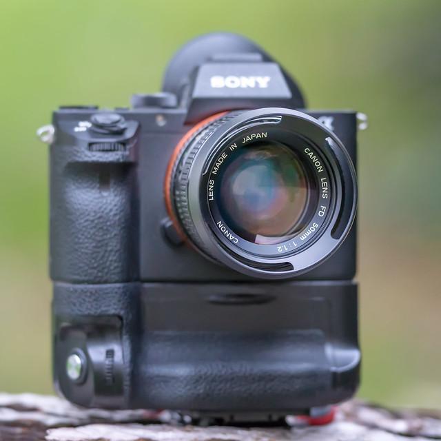 CANON nFD 50mm ƒ/1.2 on SONY ⍺7II