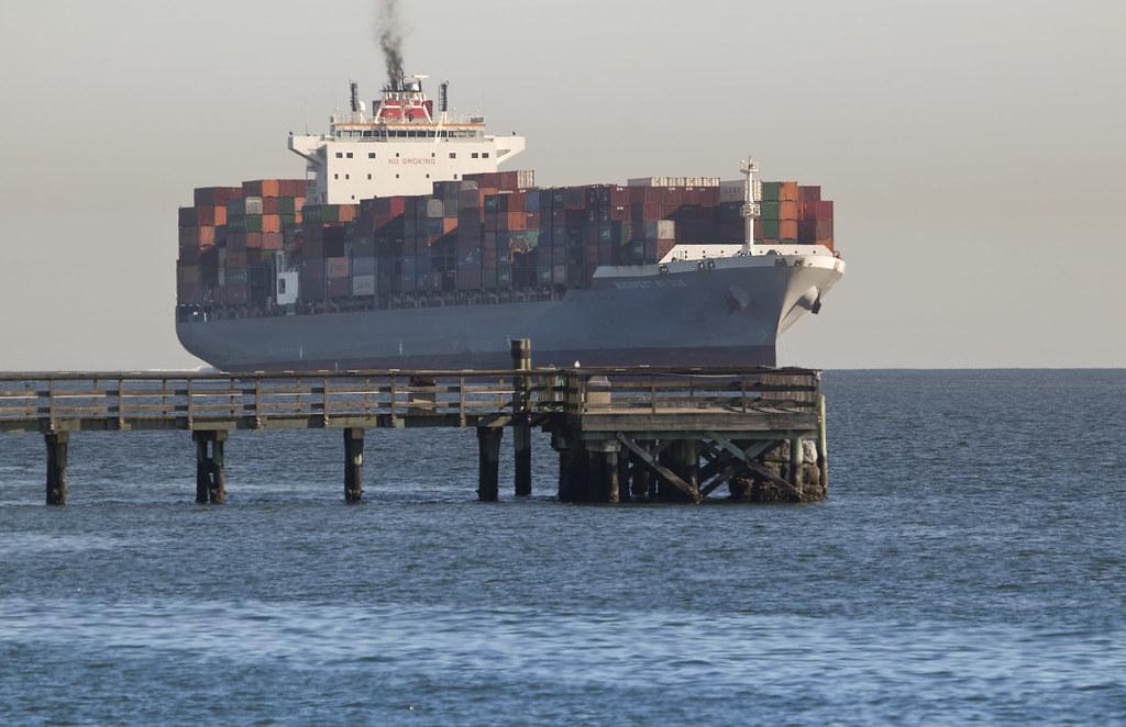 BUDAPEST BRIDGE - Container Ship